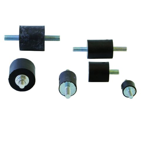 Cylindrical rubber mounts - CG