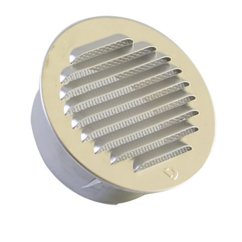 Round external louvers
